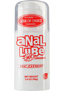 Anal Lube Hot Cinnamon Airless Pump 3.4 Ounce