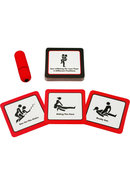 Sexy Vibrations Sex Positions Card Game With Bullet