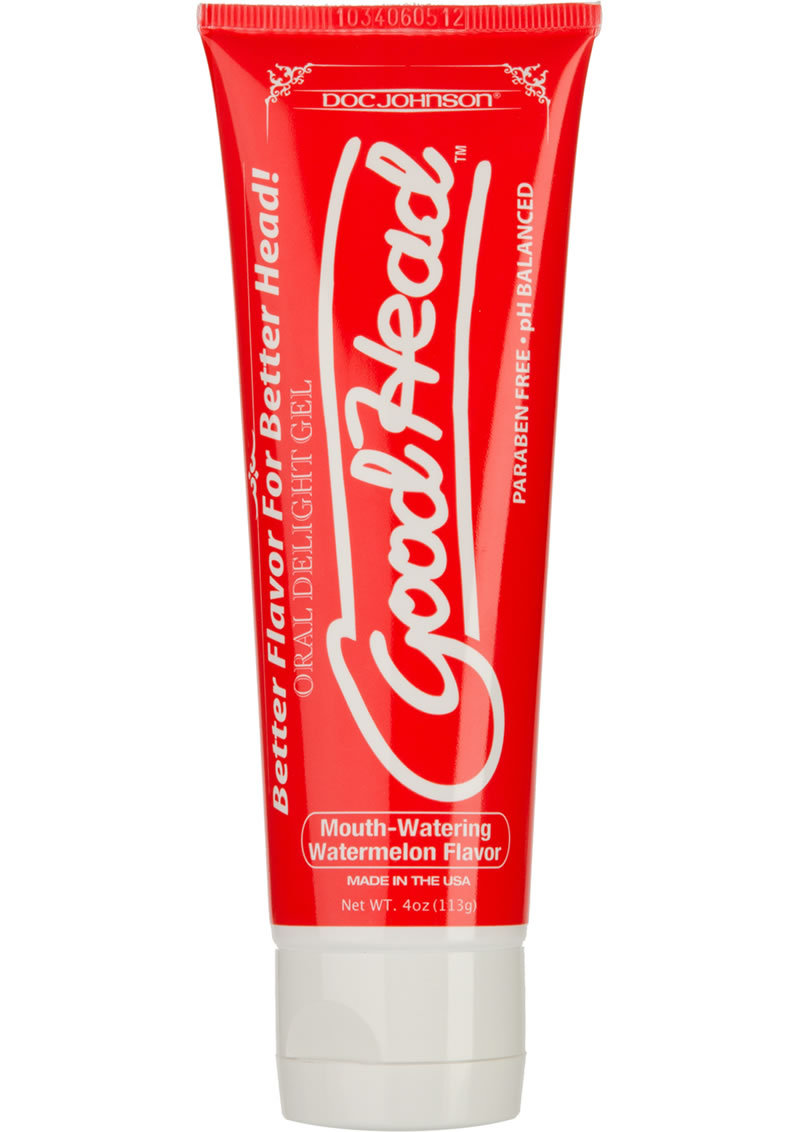 Goodhead Oral Delight Gel Watermelon 4 Ounce