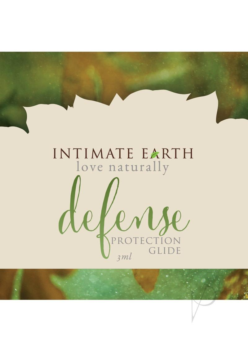 Intimate Earth Defense Protection Glide Sea Kelp, Tea Tree Bark And Guava Bark  3 Milliliter Foil Pack